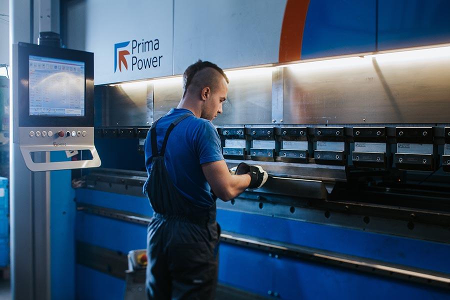 CNC krivljenje aluminija