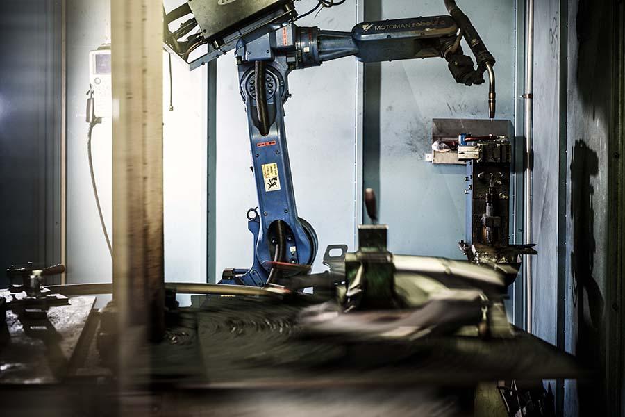 Varjenje inoxa z robotom